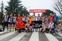Foto equipo maratón Badajoz
