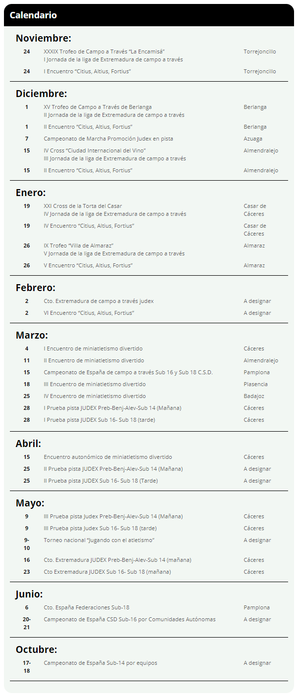 Proyecto Calendario Judex 2021